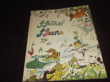 COLLECTABLE GLOSS COVER PB BOOK FFOLKES' FFAUNA HARRAP 1977